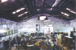 Interior View Looking toward the entrance Taken by R. Thorne.