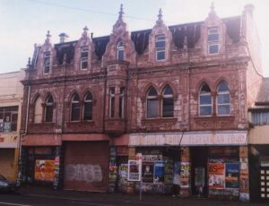 The Trocadero as it now is, forlorn and neglected. Photo by Graeme Nichols, June 2001
