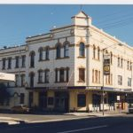 Newtown Hotel, Laundrette, Emporium Music Store, Two restaurents.