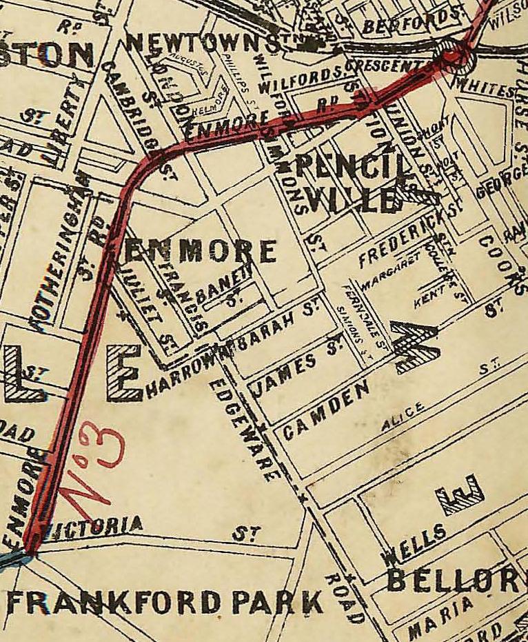 Enmore Road, 1887